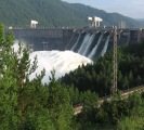 10-ruble tour - Krasnoyarsk dam